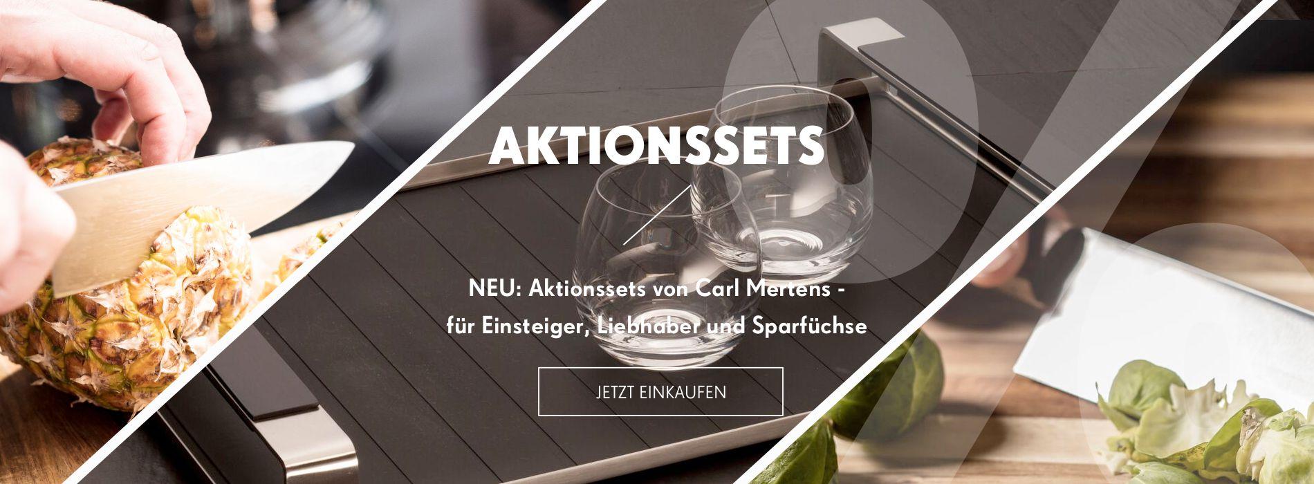 Geld sparen mit den Aktionssets von Carl Mertens!