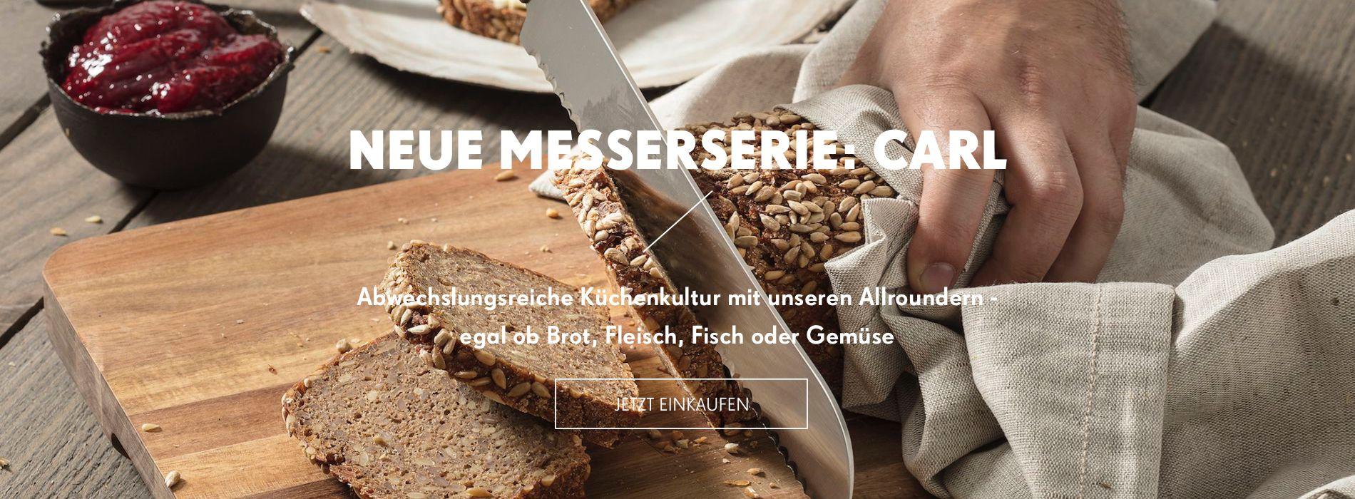 Neue Messerie von Carl Mertens: CARL