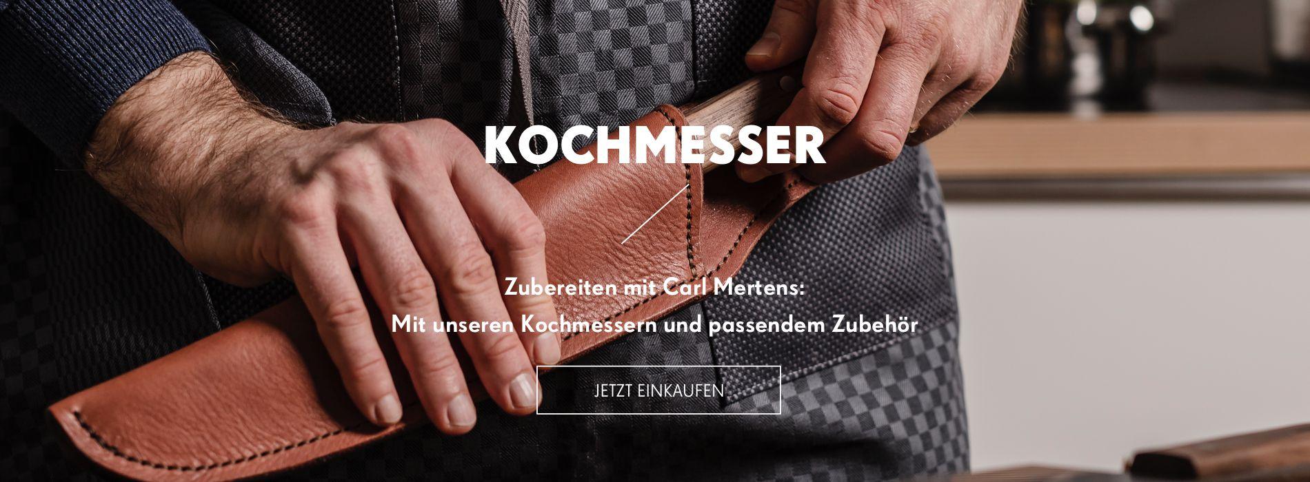 Hochwertige Kochmesser von Carl Mertens