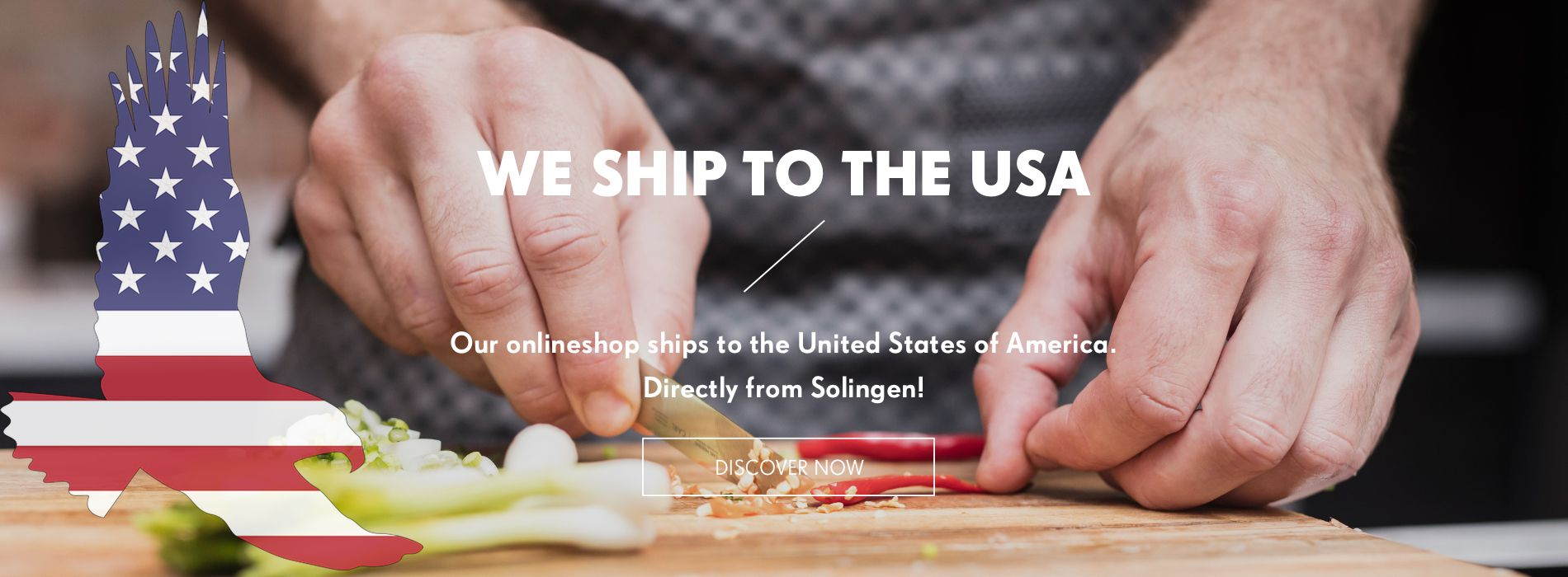Our Onlineshops ships to the USA!