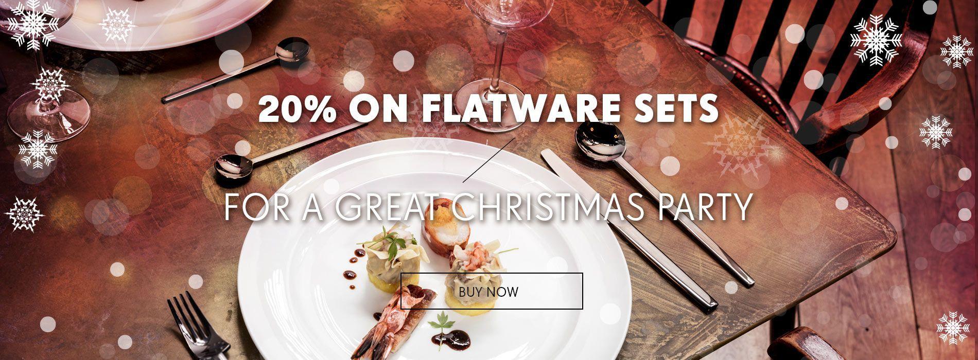20% Discount on Flatware-Sets!