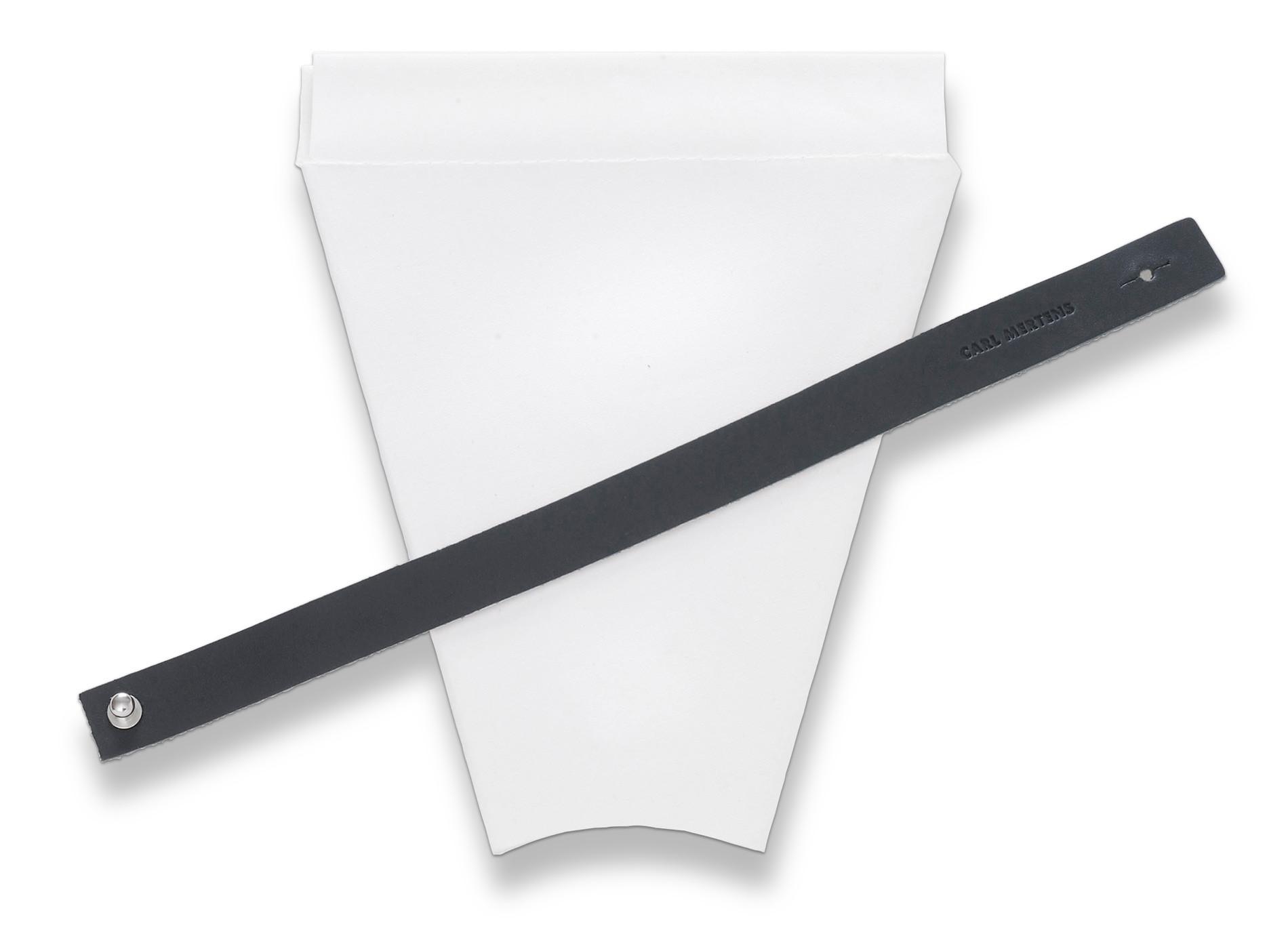 YOU Ersatztextilbeutel mit Lederband schwarz