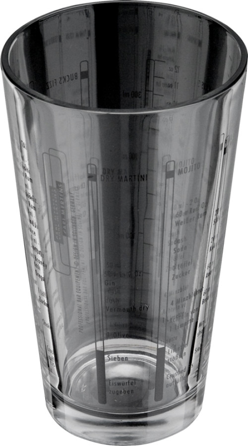 HAMPTON Rührglas mit Rezepten