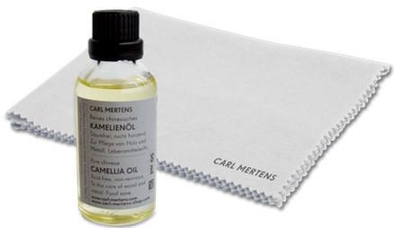 PFLEGESET CAMELLIA Kamelienöl & Pflegetuch