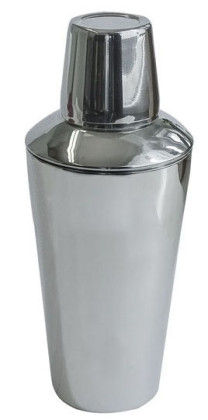 HAMPTON Cocktailshaker 400 ml, 3-teilig