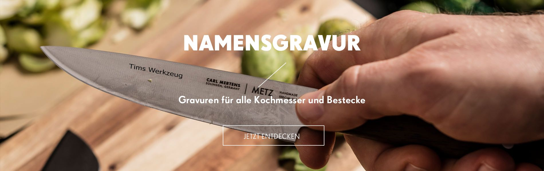 Carl Mertens - Gravur für Messer