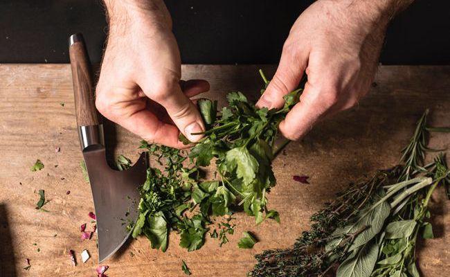 Der Carl Mertens Onlineshop Messerfinder - Messer für Kräuter