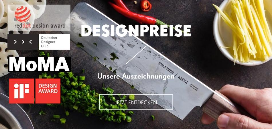 Carl Mertens - Designpreise