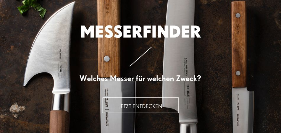 Der Carl Mertens Onlineshop Messerfinder